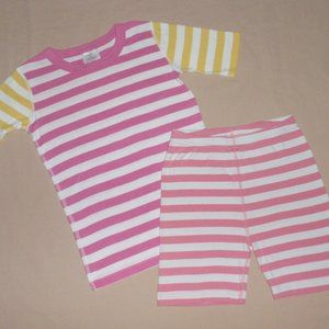 Mismatched Hanna Andersson Girls Pajamas 150 12